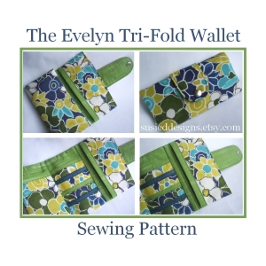 The Evelyn Tri-Fold Wallet