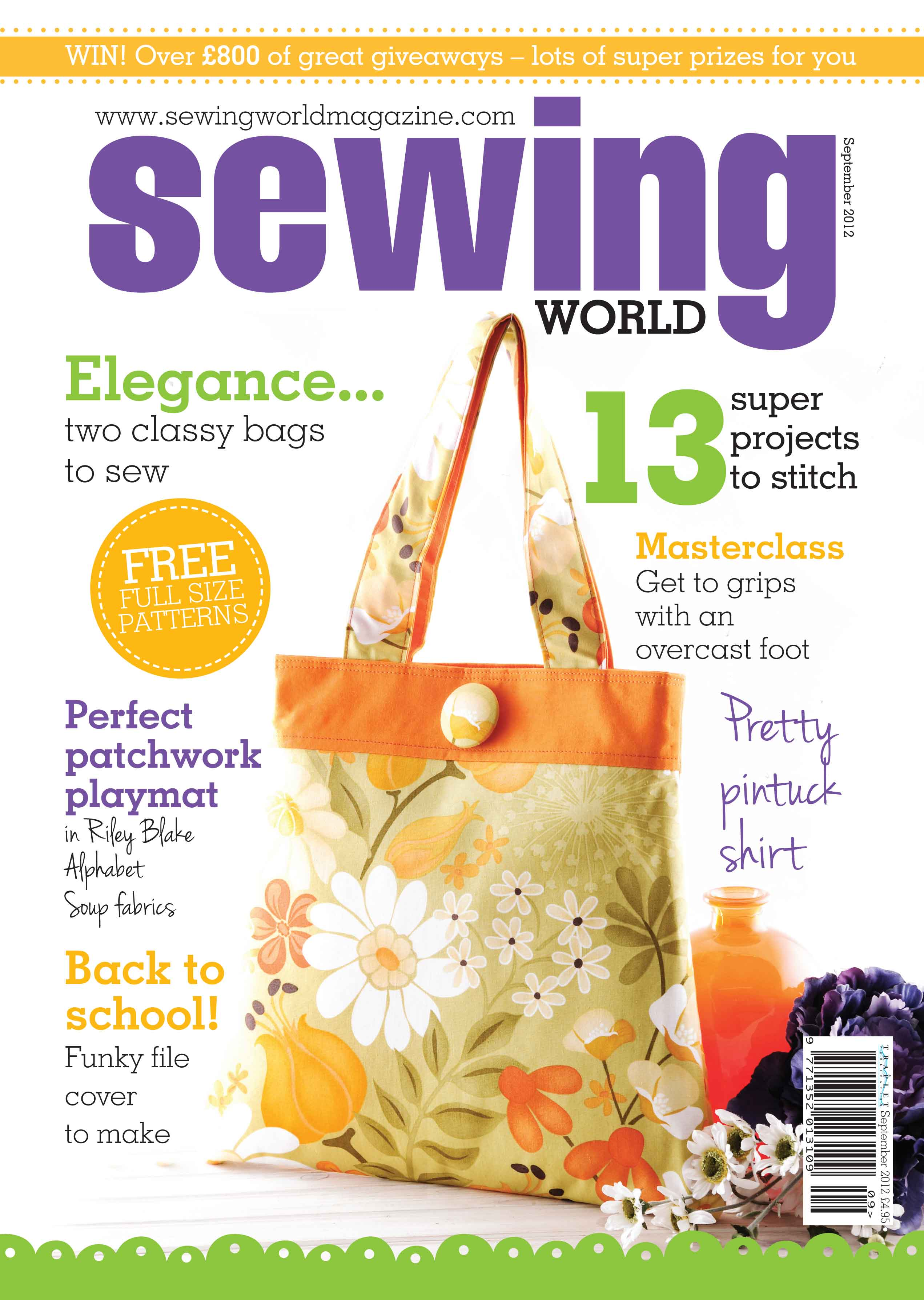 Sewing world magazine feature susieddesigns space to sew craft sewing world sept 2012 issue jeuxipadfo Choice Image
