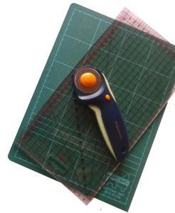 rotary cutter mat ruler A4 size