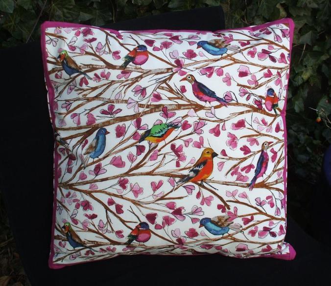 Handmade Cushion - Laura Gunn Fabric