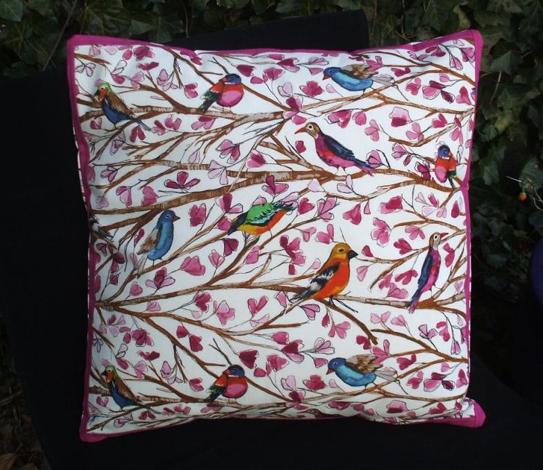 Handmade Cushion - Laura Gunn Fabric