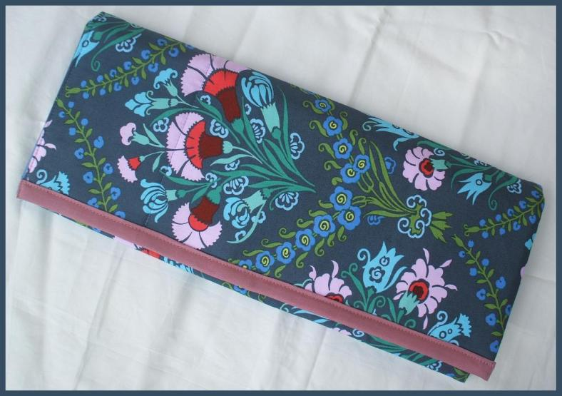 Handmade Knitter's Tri-fold Wrap
