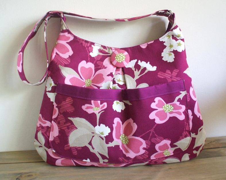 Vilene G700 woven cotton fusible interfacing was used to make this stylish hobo bag.