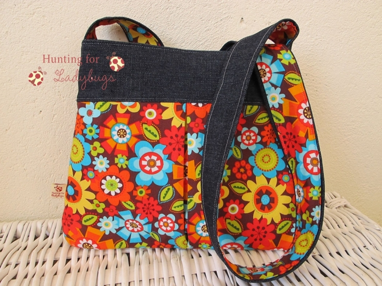 Beautiful Handbag Handmade by Sarah, of Hunting for Ladybugs on Etsy