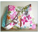 The Amelia Pleated Handbag pdf sewing pattern