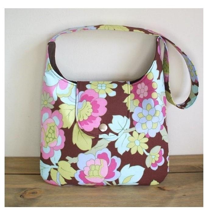 The Emma Hobo Bag PDF Sewing Pattern by SusieDDesigns