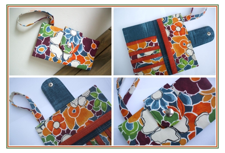 Bi-Fold Wallet Sewing Pattern by SusieDDesigns