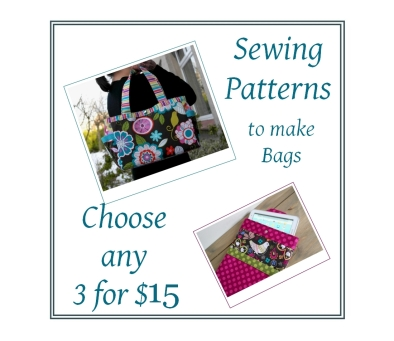 Your choice of PDF sewing patterns for $15