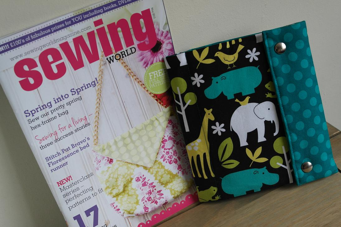 Writing set case sewing project featured in sewing world magazine sewing project by susan dunlop for sewing world magazine jeuxipadfo Choice Image