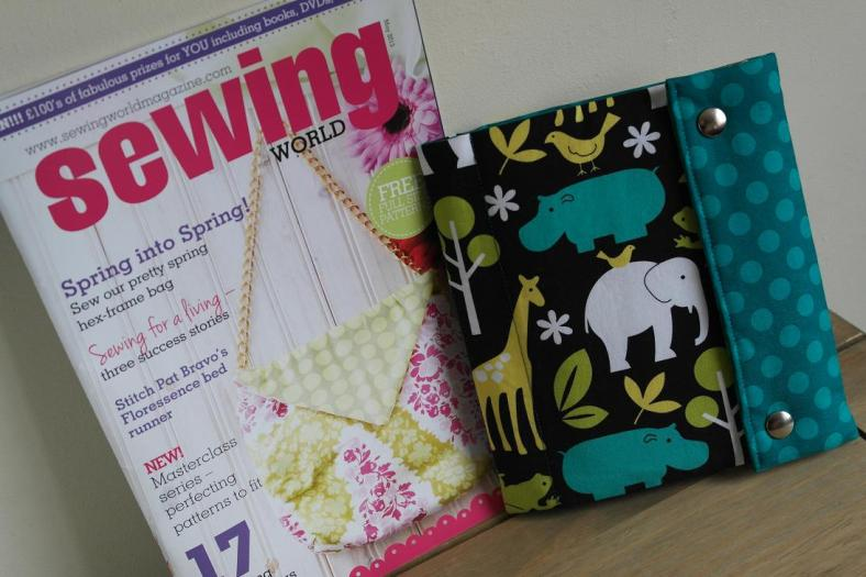 Sewing Project by Susan Dunlop for Sewing World magazine