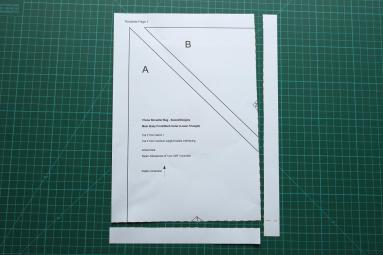 The page with dashed lines cut to remove borders.