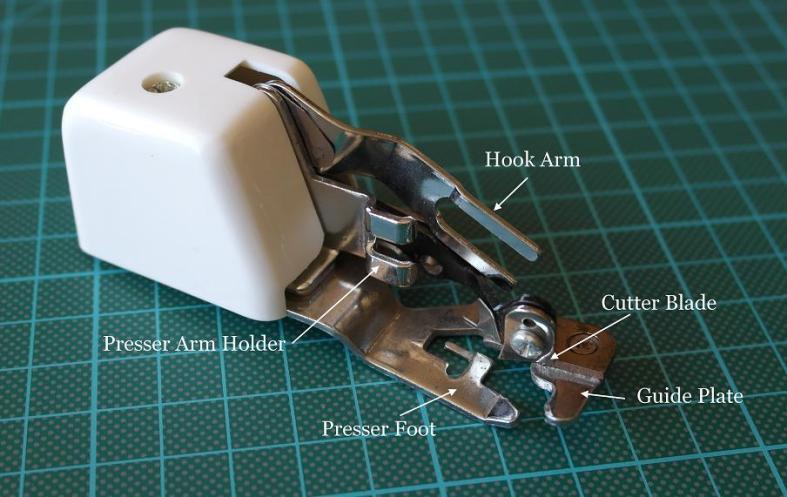 Cut & Hem Sewing Machine Attachment Foot