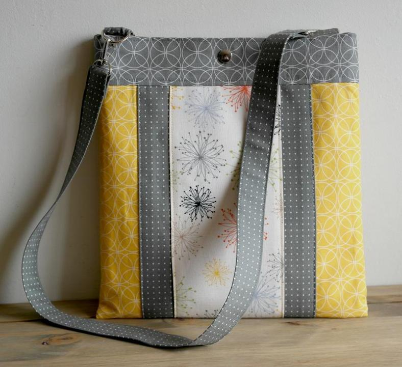 The Layered Hipster Bag Sewing Pattern by SusieDDesigns