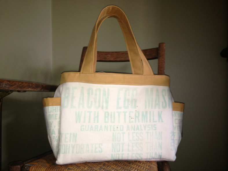 The Abigail Nappy Bag from a sewing pattern by SusieDDesigns