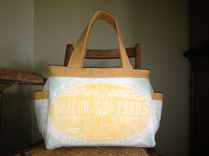 The Abigail Nappy Bag Sewing Pattern by SusieDDesigns - Customer Make