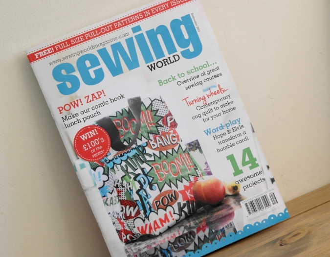 Sewing World Magazine September 2013 Issue
