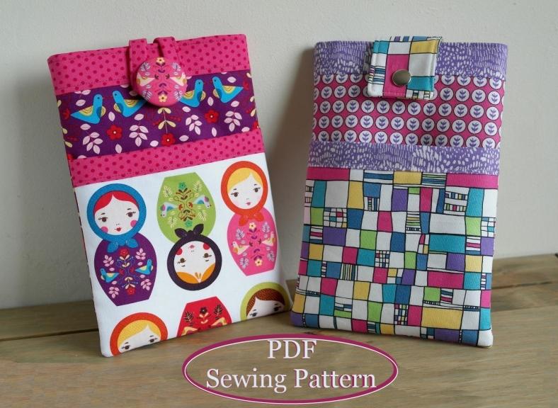 iPad sleeve sewing pattern by SusieDDesigns