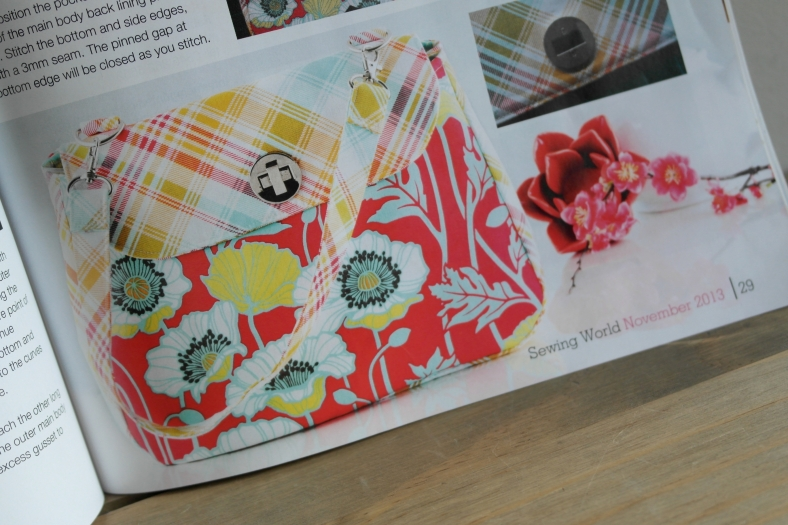 Handmade Bag by Susan Dunlop for Sewing World magazine