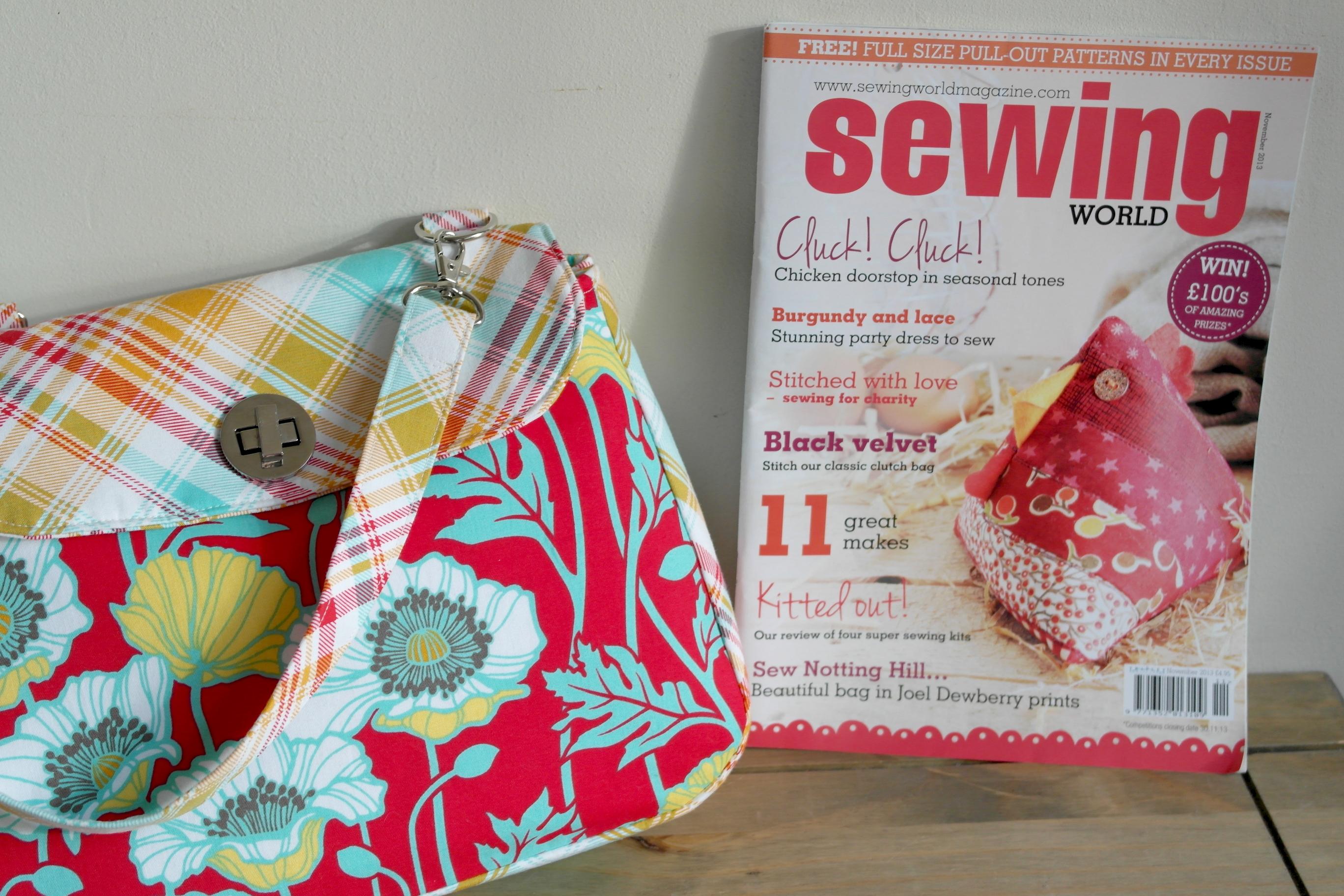 Sewing world magazine november issue out now susieddesigns sewing world magazine november 2013 issue jeuxipadfo Choice Image
