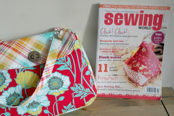 Sewing World magazine November 2013 issue