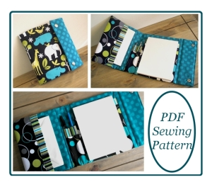 Writing Set Cover Sewing Pattern