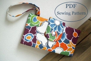 ladies bi-fold wallet sewing pattern