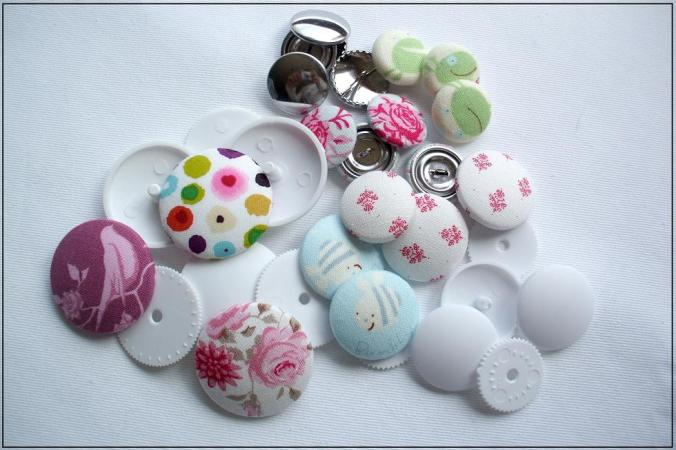 buttons for covering with fabric