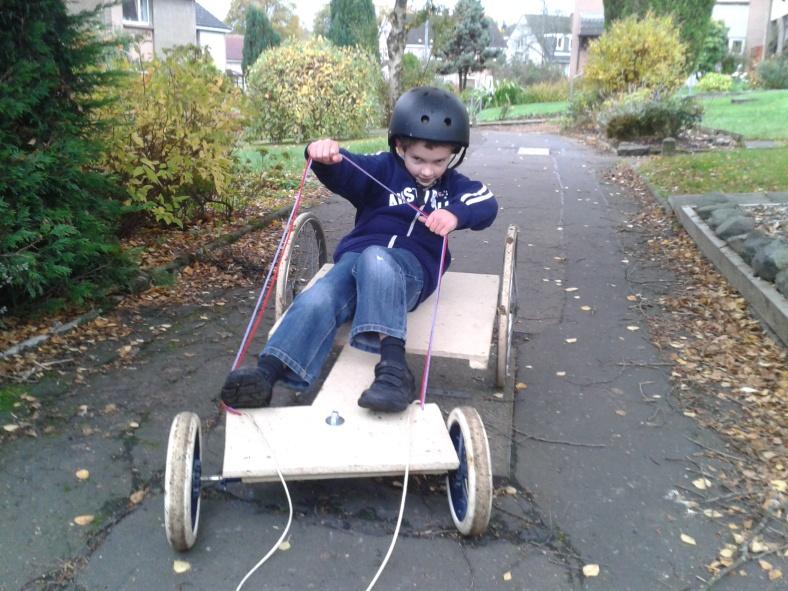 Homemade Go-Kart 2
