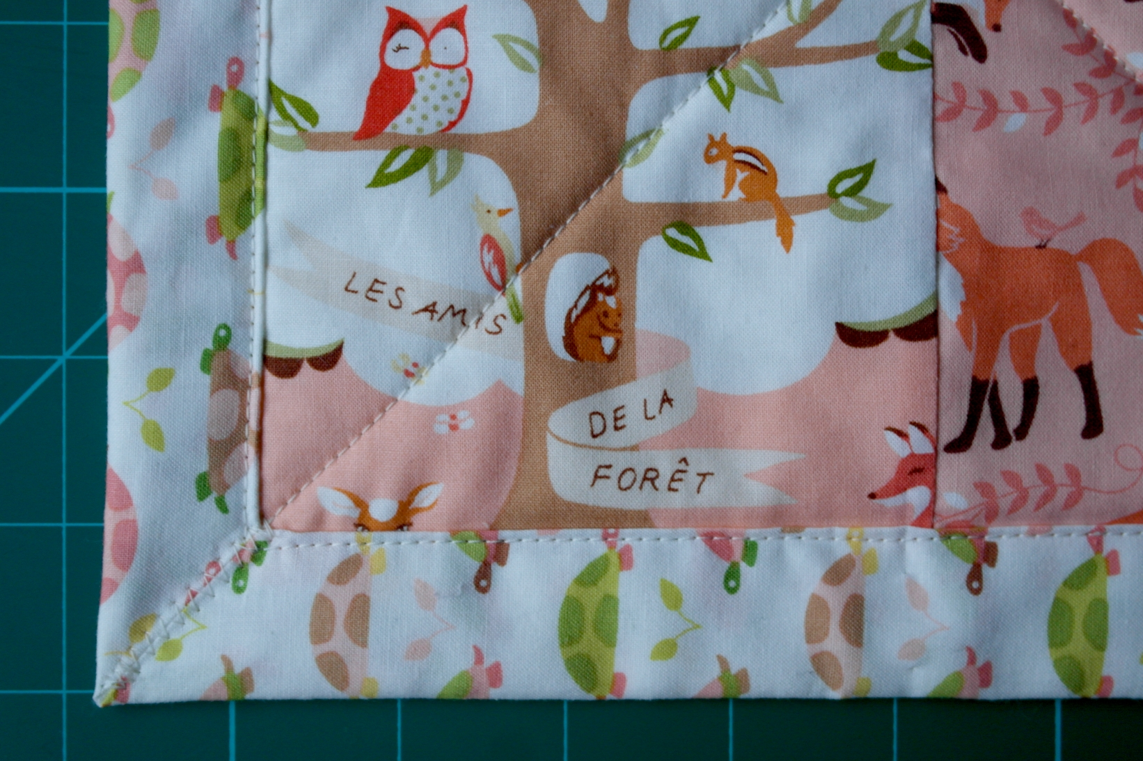 Cute Quilt For A Little Boy Including Self Binding Tutorial