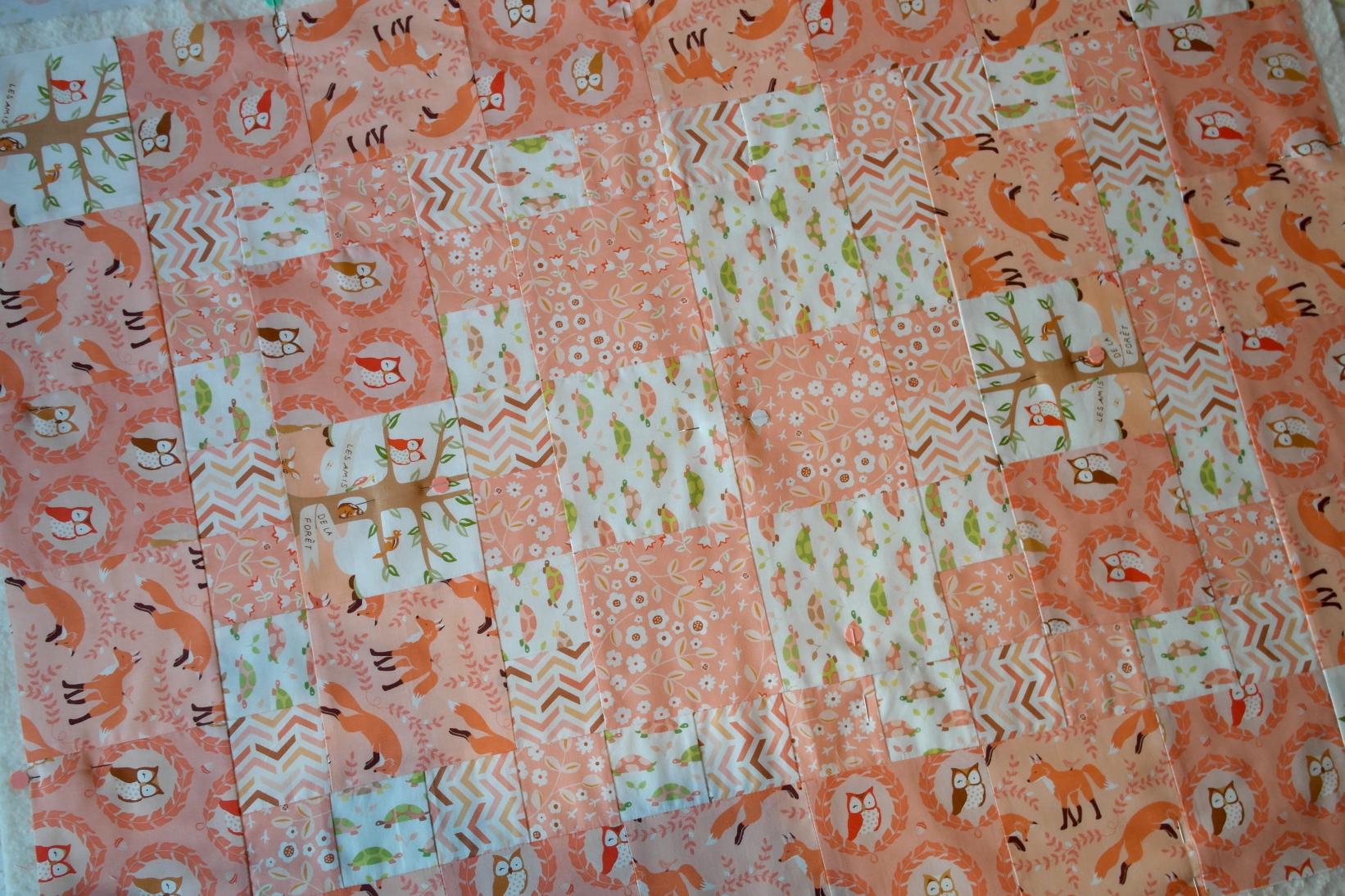 Cute Quilt for a little boy, including Self-binding Tutorial ... : cute quilt - Adamdwight.com