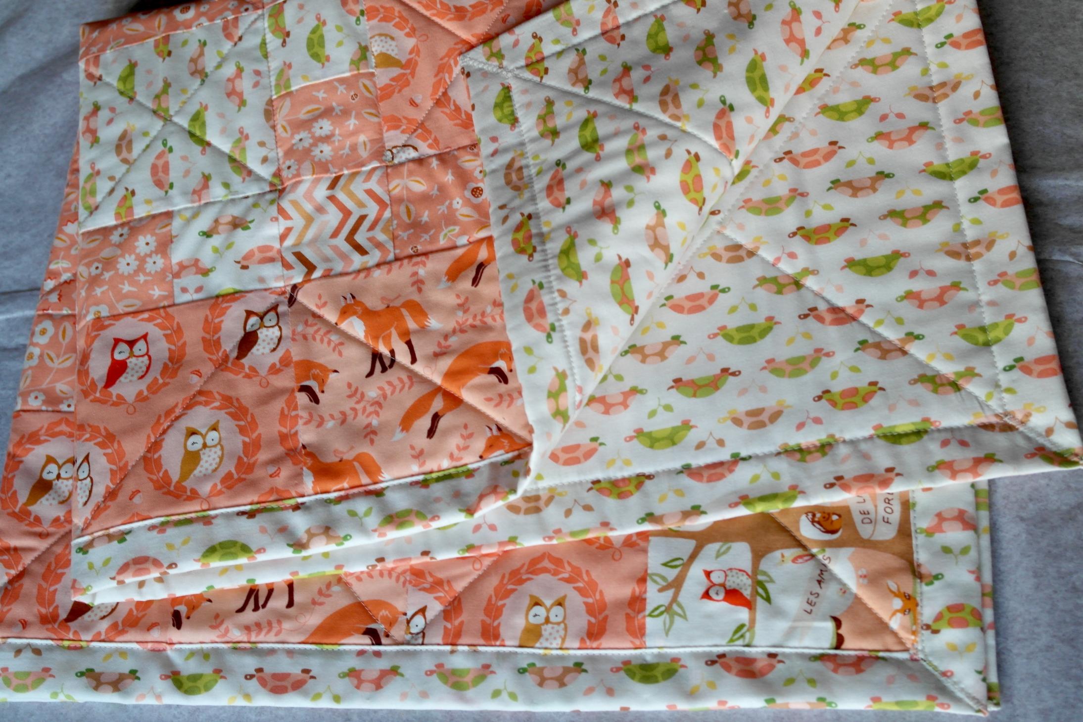 Woodland creatures quilt pattern u walklet bedding woodland baby