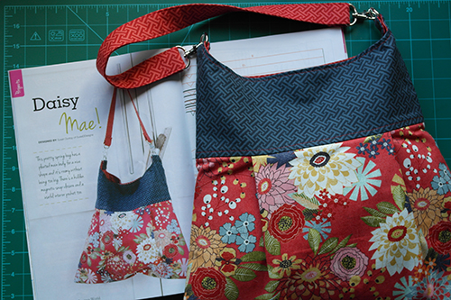 Daisy Mae Bag Sewing Pattern by Susan Dunlop for Sewing World Magazine