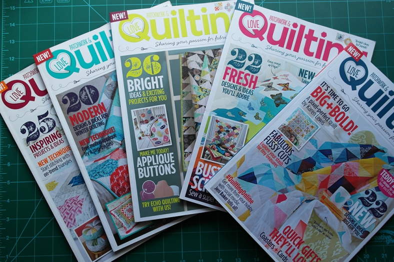 Love Patchwork and Quilting magazine review