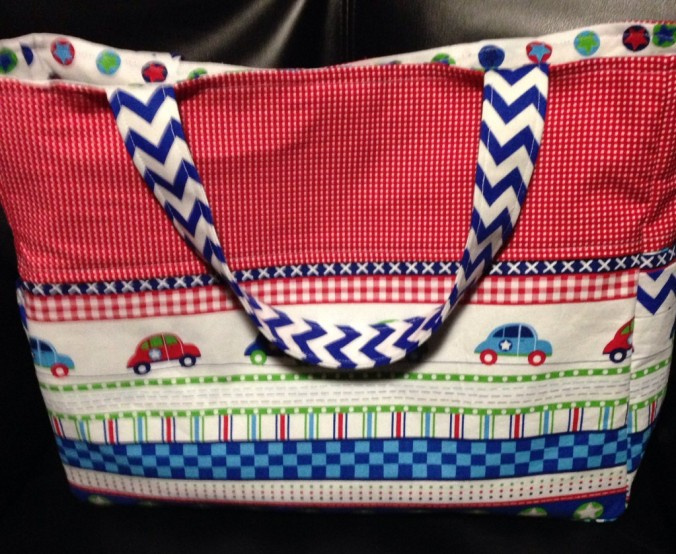 Stacy Kinel has made the Millie Diaper Bag