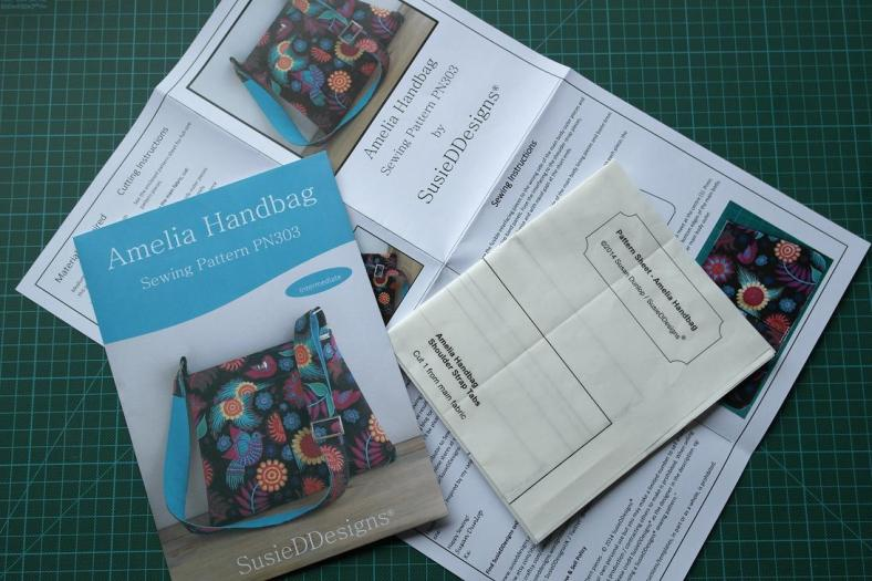 Printed Pattern - Amelia Handbag