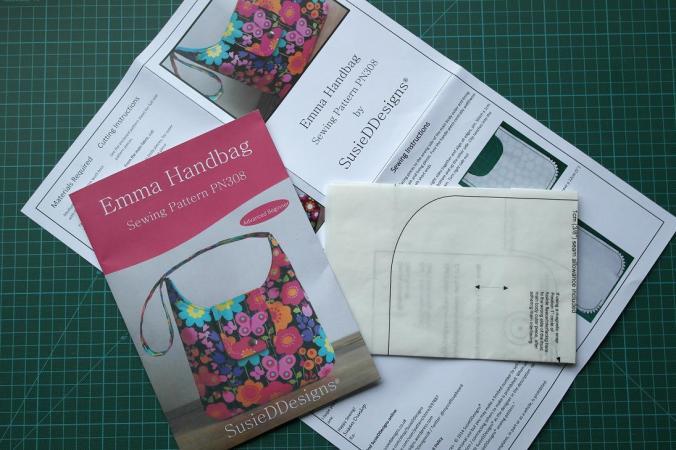 Printed Pattern - Emma Handbag