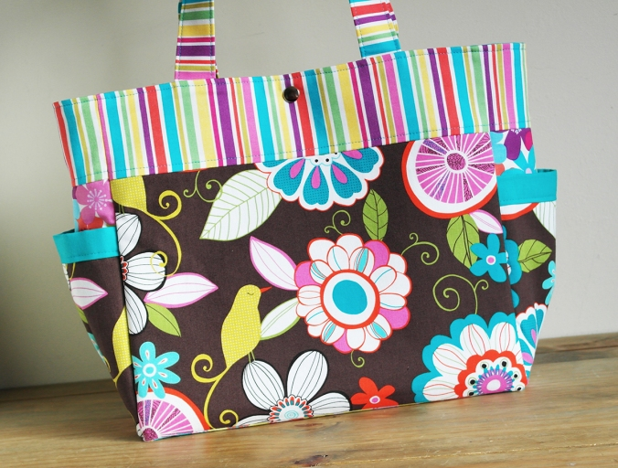Handmade Abigail Nappy Bag by SusieDDesigns