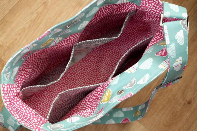 Petite Street Nappy Bag Interior