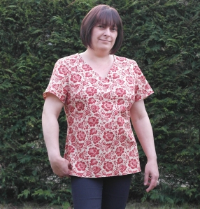 View C Top - New Look sewing pattern 6356