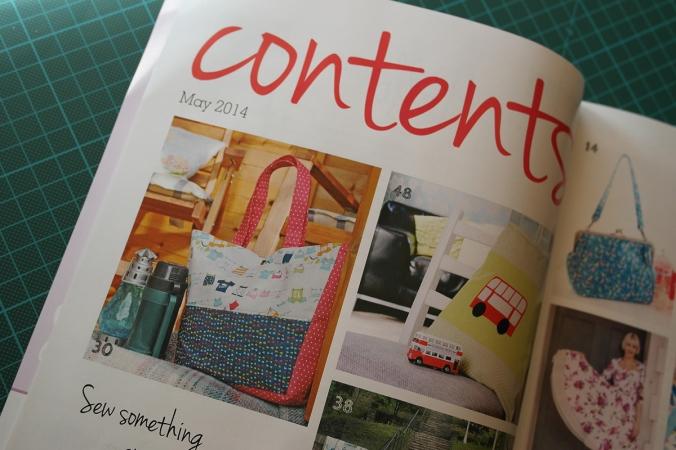 Sewing World Magazine May 2014