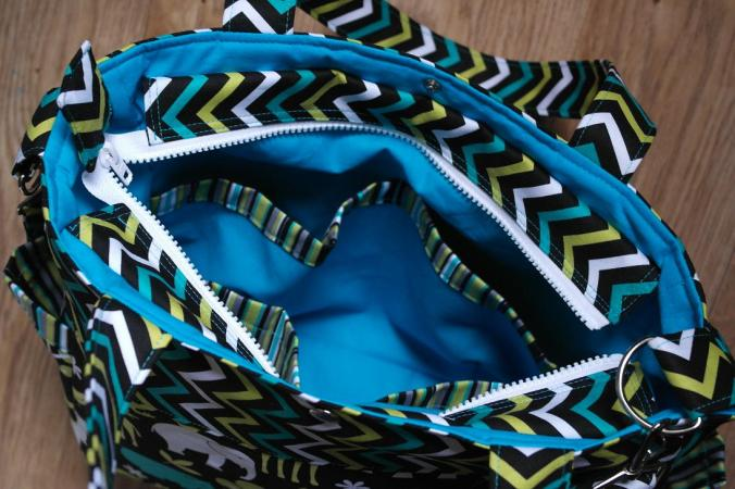 Sophie Nappy Bag Interior