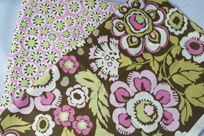 2 x 1/2 yards of Amy Butler's fabrics from the Daisy Chain collection