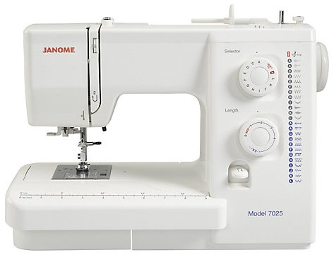 janome 7025 sewing machine manual