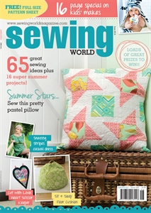 sewing world magazine June 2014