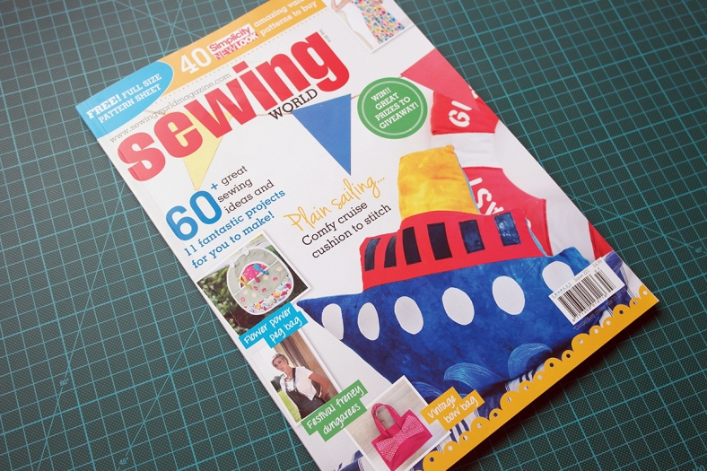 July issue of Sewing World Magazine