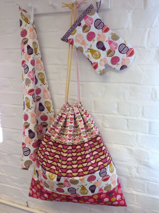 Retro Orchard Laundry Bag at Dashwood Studio Open Day