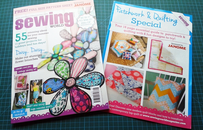 Sewing World Magazine August 2014