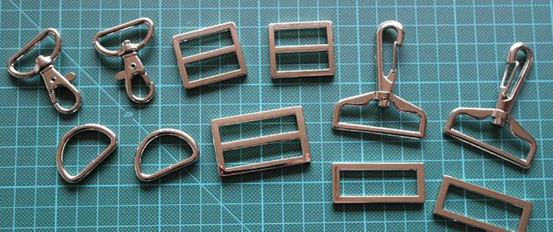 Metal Hardware for Bagmaking