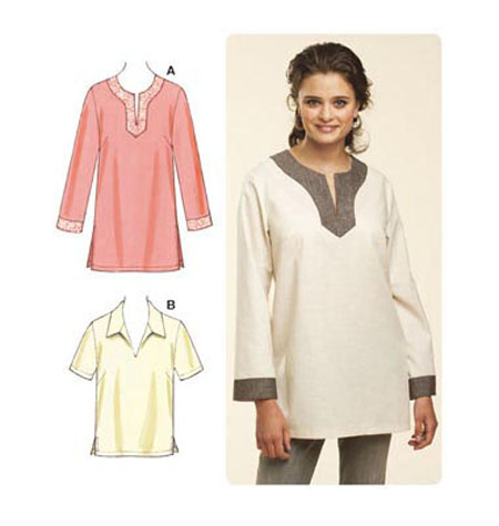 K3601 Mccalls Sewing Pattern Pull Over Tops Susieddesigns Sewing