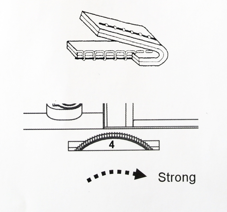 needle thread tension adjust